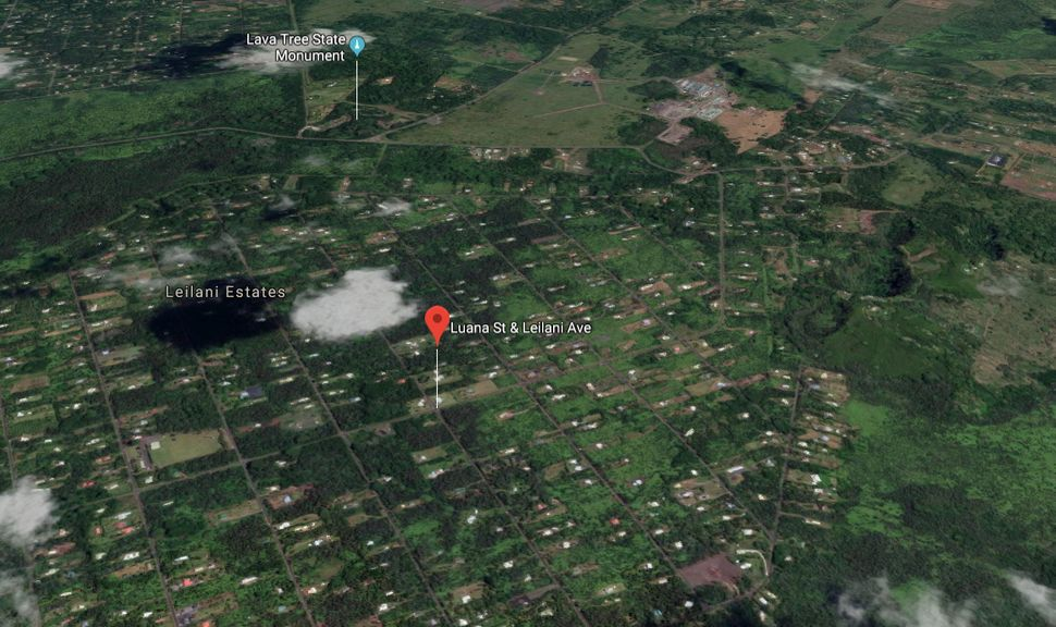 The most active fissure of the summer from the Kilauea volcano tore open in the Leilani Estates subdivision on Hawaii's Big I