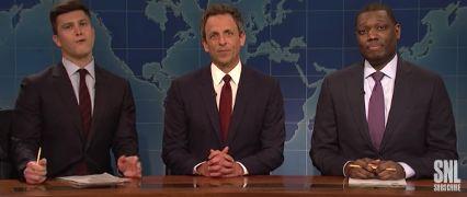 Seth Meyers on Weekend Update again.