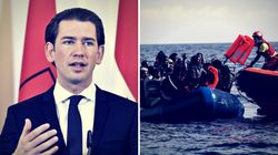 Österreichs Kanzler Kurz behauptet, weniger Flüchtlinge sterben im Mittelmeer – ein