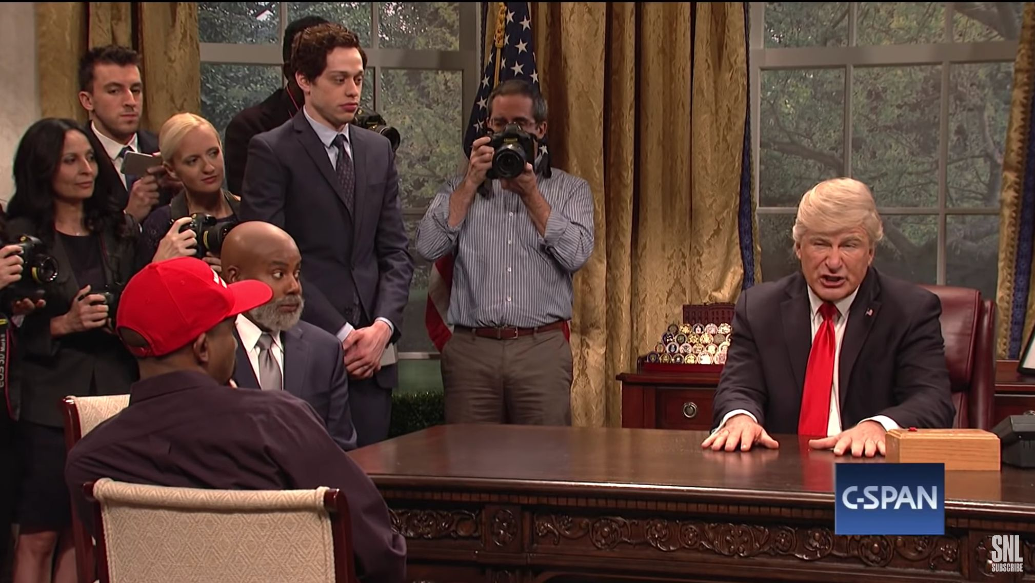Saturday Night Live Reveals What Trump Was Really Thinking When Kanye West Called