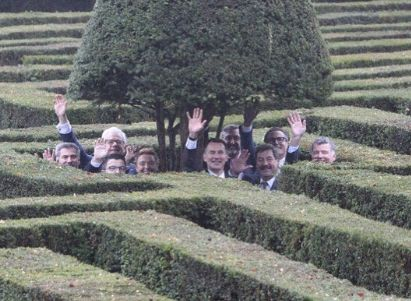 ALSO: Jeremy Hunt Jokes About Brexit While Navigating A Maze And It's A Gift To The