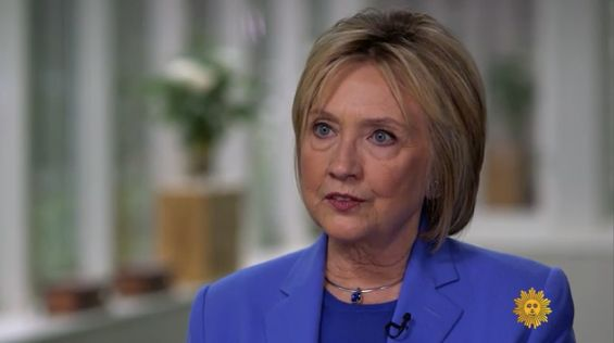 Clinton denies her husband's affair was an abuse of power.
