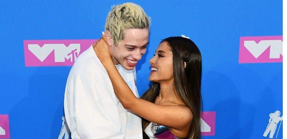 Ariana Grande & Pete Davidson's Pet Pig Makes Debut In 'Breathin' Music Video