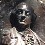 미국의 어느 시청이 동상을 훼손한 사람을 찾고
