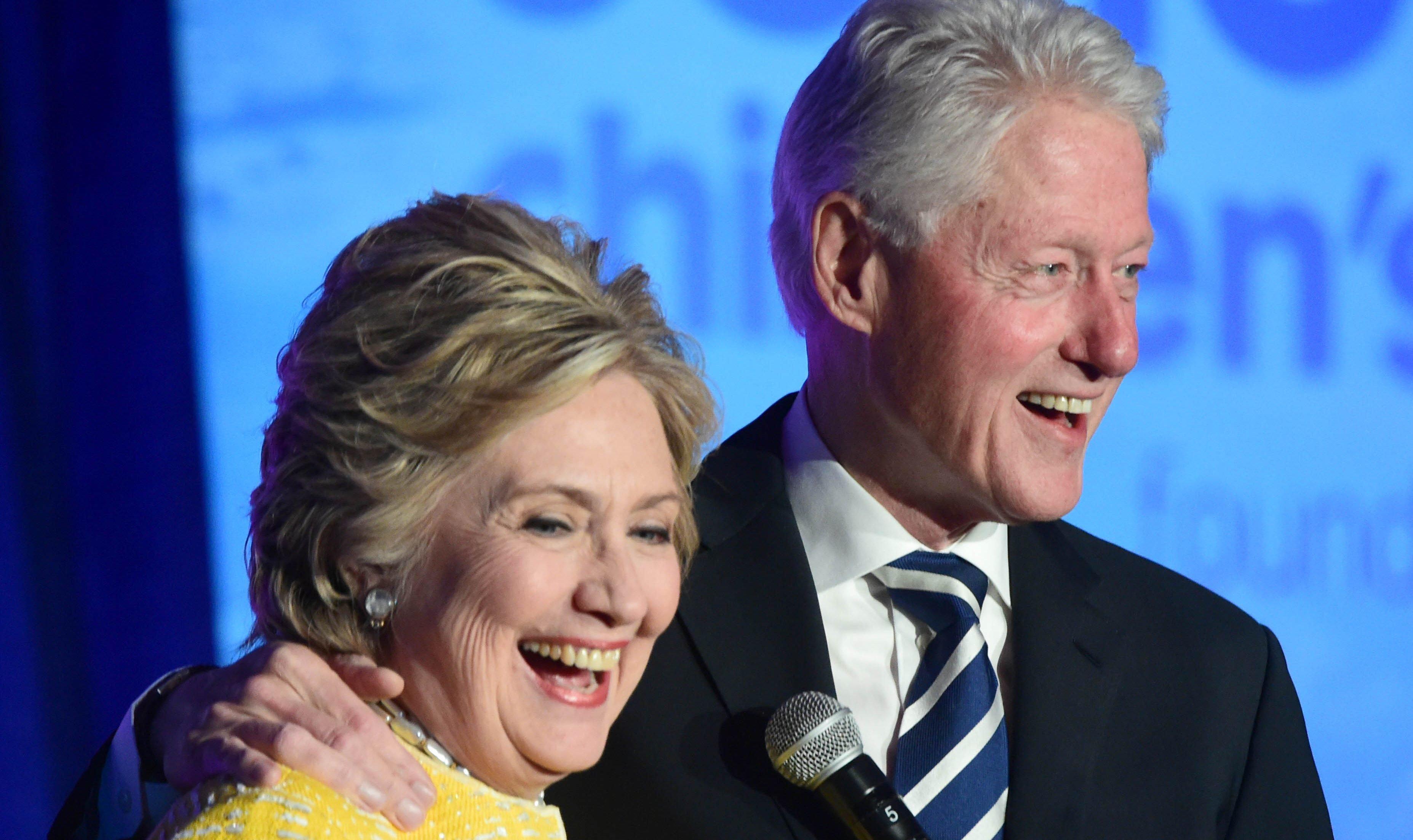 힐러리 클린턴이 빌 클린턴과 모니카 르윈스키 추문은 위력에 의한 행위가 아니었다고