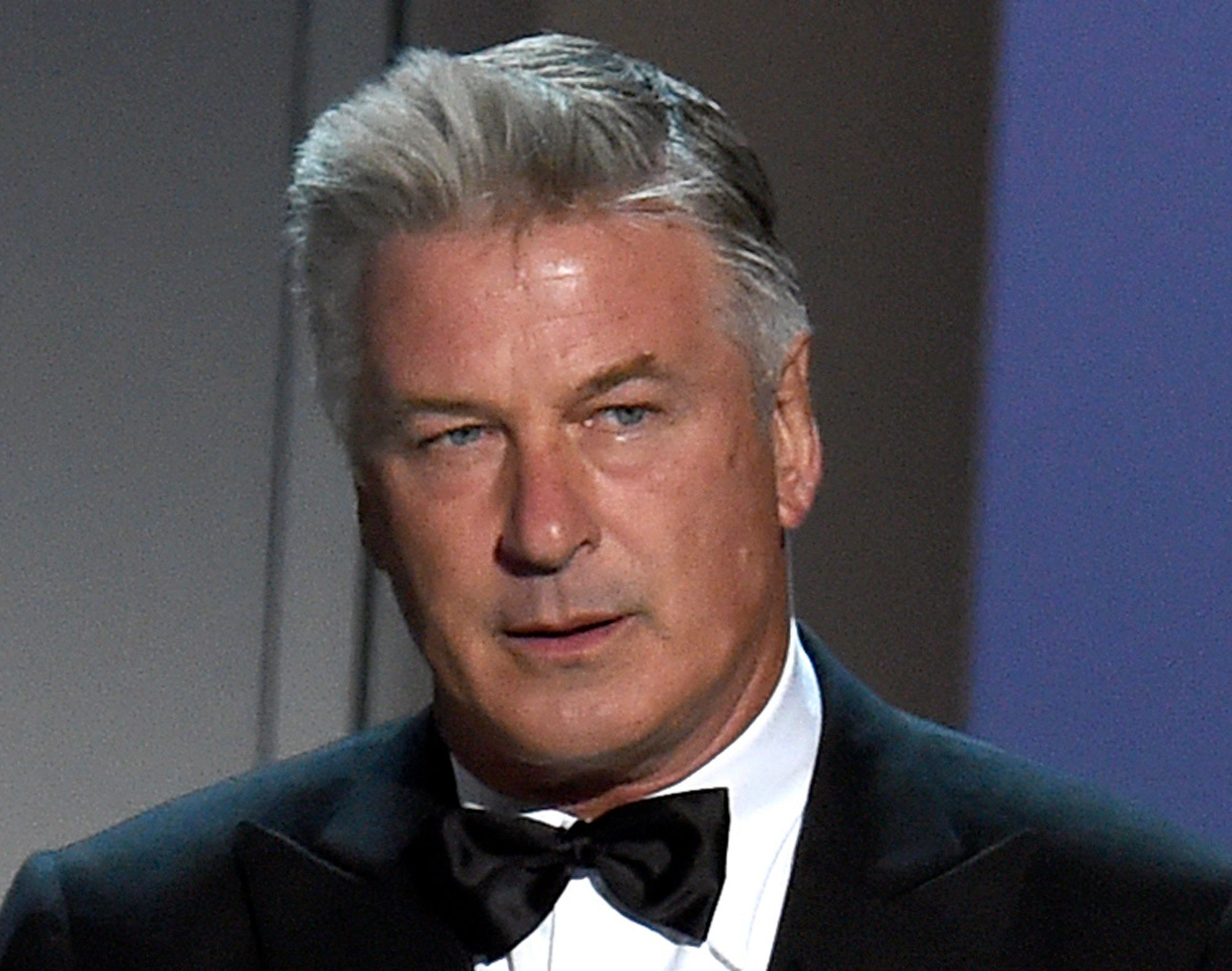 "FILE - In this Sept. 17, 2018, file photo, Alec Baldwin speaks at the 70th Primetime Emmy Awards at the Microsoft Theater in Los Angeles. Baldwin, who won an Emmy in 2017 for his portrayal of President Donald Trump on ""Saturday Night Live,"" will be the keynote speaker at the New Hampshire Democratic Party's annual fall fundraising dinner on Sunday, Oct. 14, in Manchester, N.H. (Photo by Chris Pizzello/Invision/AP, File)"