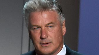 """FILE - In this Sept. 17, 2018, file photo, Alec Baldwin speaks at the 70th Primetime Emmy Awards at the Microsoft Theater in Los Angeles. Baldwin, who won an Emmy in 2017 for his portrayal of President Donald Trump on """"Saturday Night Live,"""" will be the keynote speaker at the New Hampshire Democratic Party's annual fall fundraising dinner on Sunday, Oct. 14, in Manchester, N.H. (Photo by Chris Pizzello/Invision/AP, File)"""