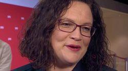Nahles im ARD-Interview: Als sie nach eigenen Fehlern gefragt wird, bricht sie
