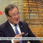 ARD: Laschet wird nach Merkel gefragt und spricht von