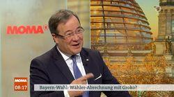 ARD: Laschet wird nach Merkels Zukunft gefragt und spricht von