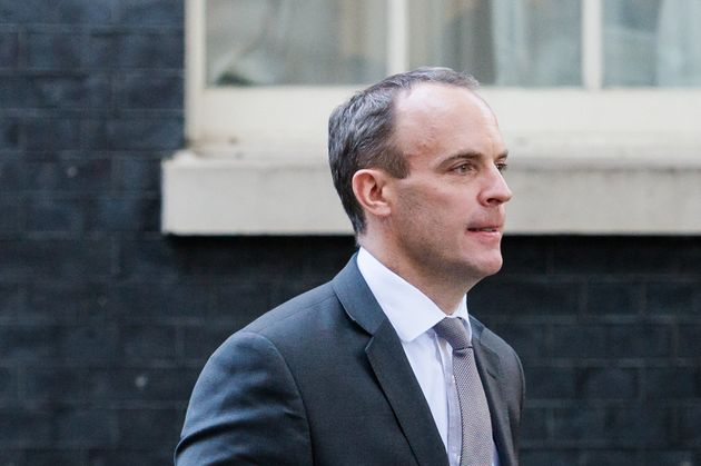 Dominic Raab, Secretario de Estado del Reino Unido para el