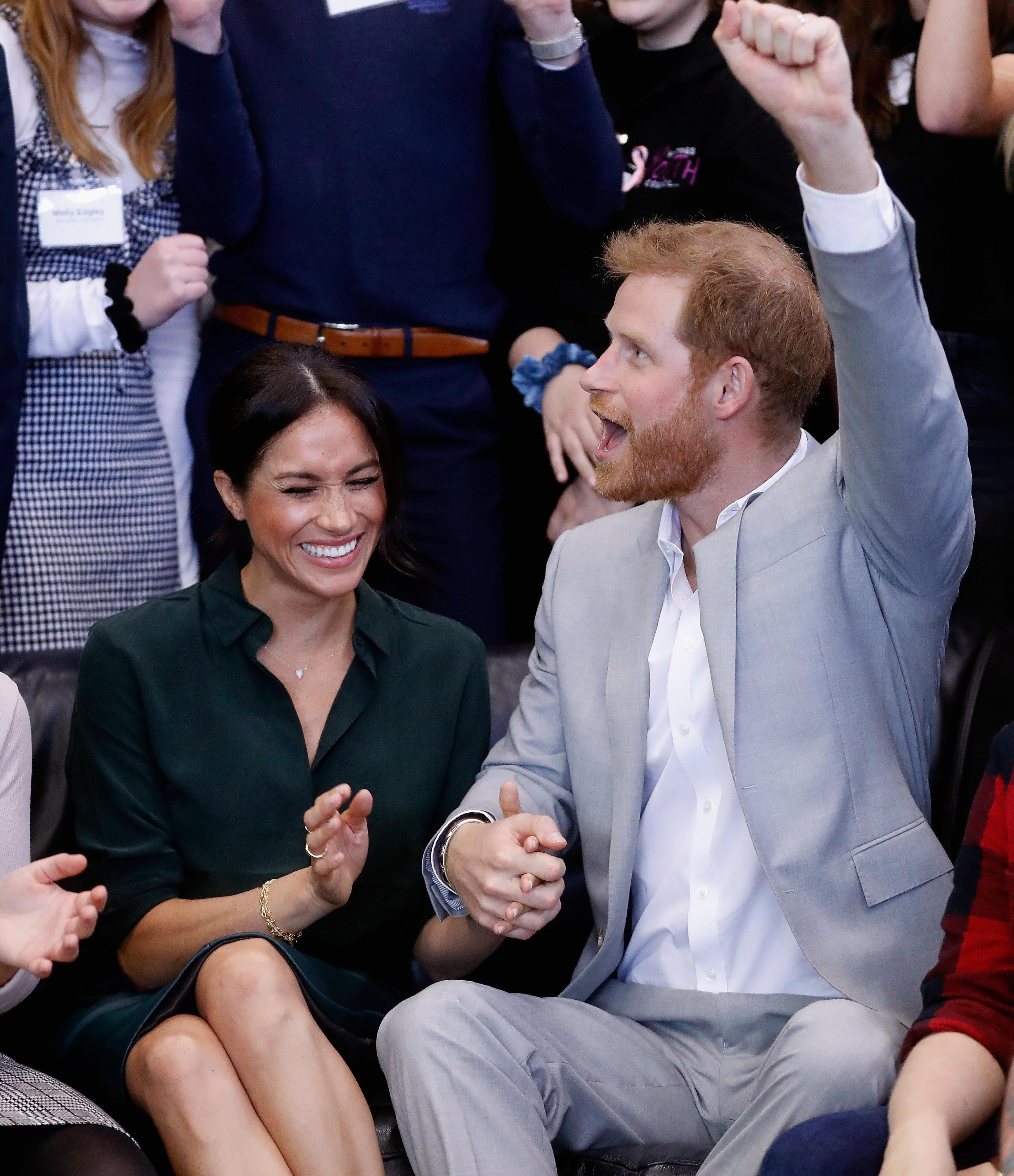 So sollen Harry und Meghan den Royals von der Schwangerschaft erzählt