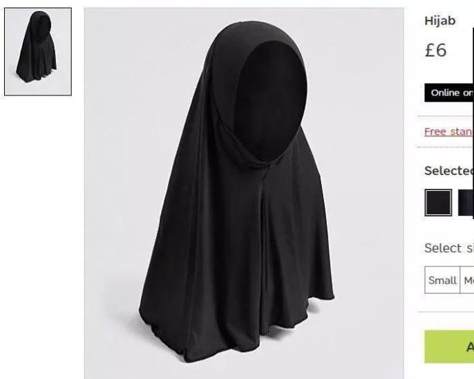 Το Marks & Spencer πουλάει χιτζάμπ για κοριτσάκια και