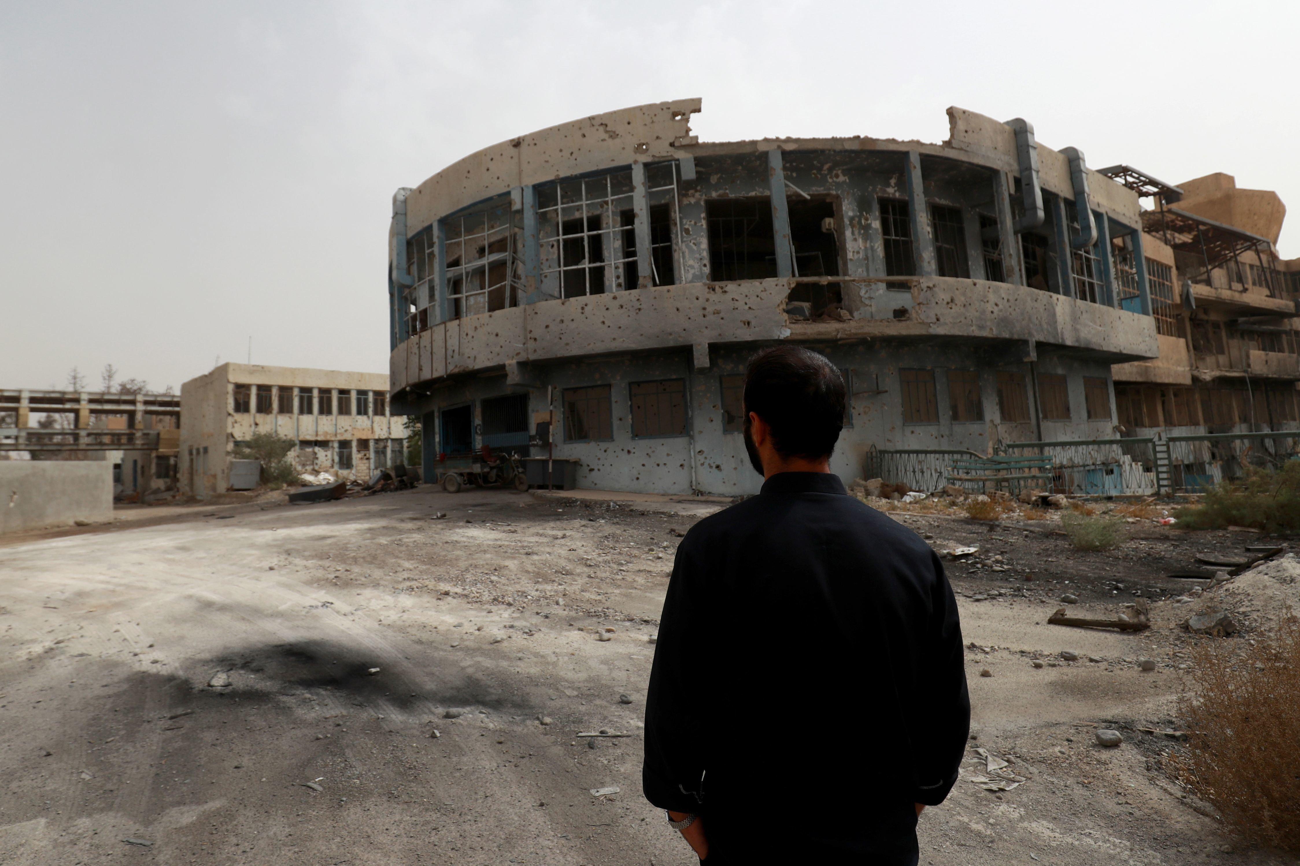 Un an après la défaite de l'EI, le principal hôpital de Raqa toujours en