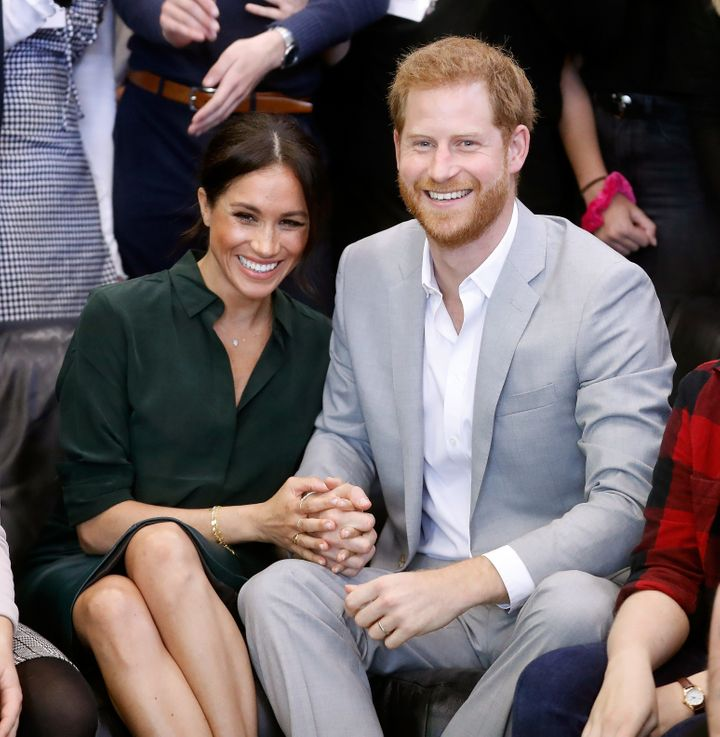 The Duke and Duchess of Sussex's first-born could be an Earl or a Lady.