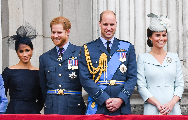 Meghan ist schwanger: So reagierten William und Kate auf die