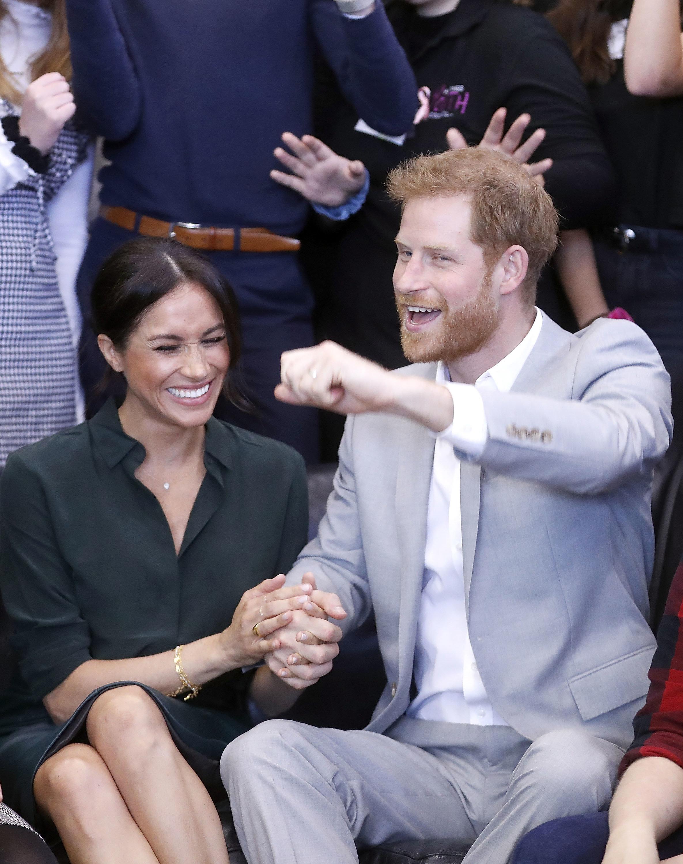 Meghan und Harry: Das sind die besten Gifs zur royalen