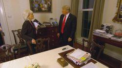 Trump gibt exklusives Interview – Twitter-Nutzer interessiert nur Bild im
