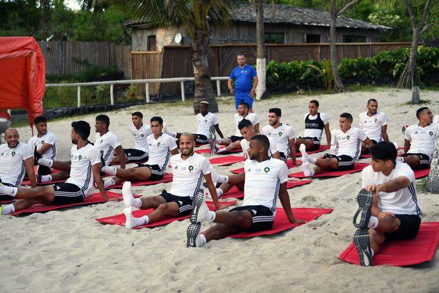 Éliminatoires CAN 2019: Arrivés aux Îles Comores, les Lions de l'Atlas se préparent pour leur match