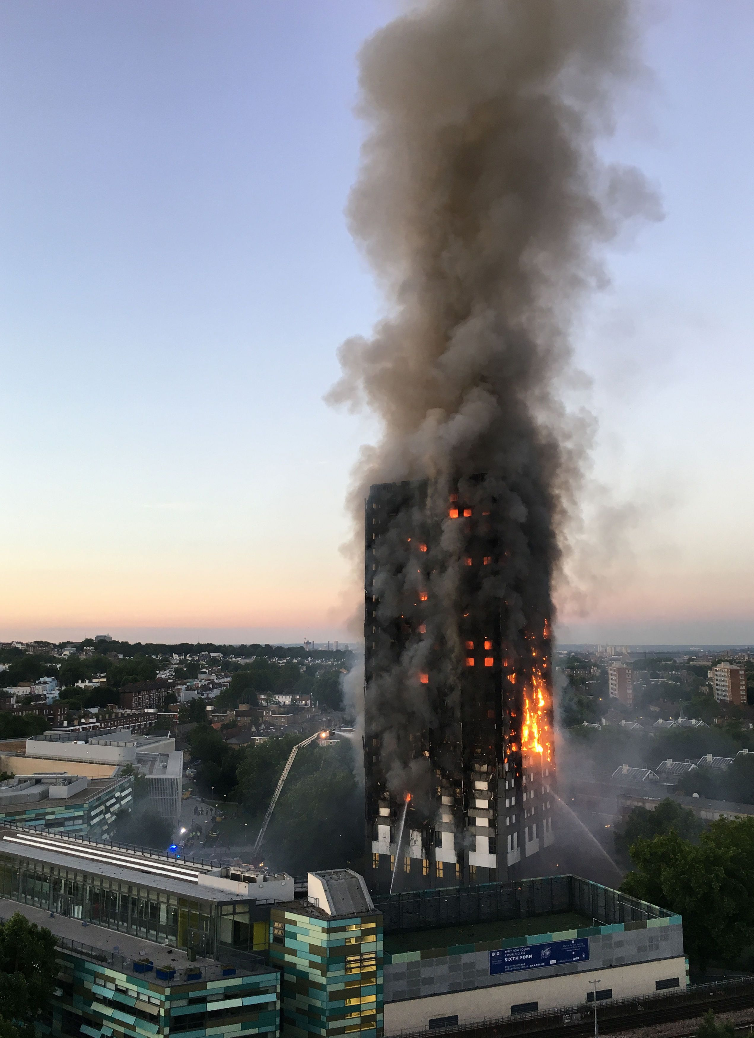 Grenfell Resident On 14th Floor Considered Tying Bed Sheets Together To Escape