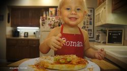 Two-Year-Old Cooking Show Goes