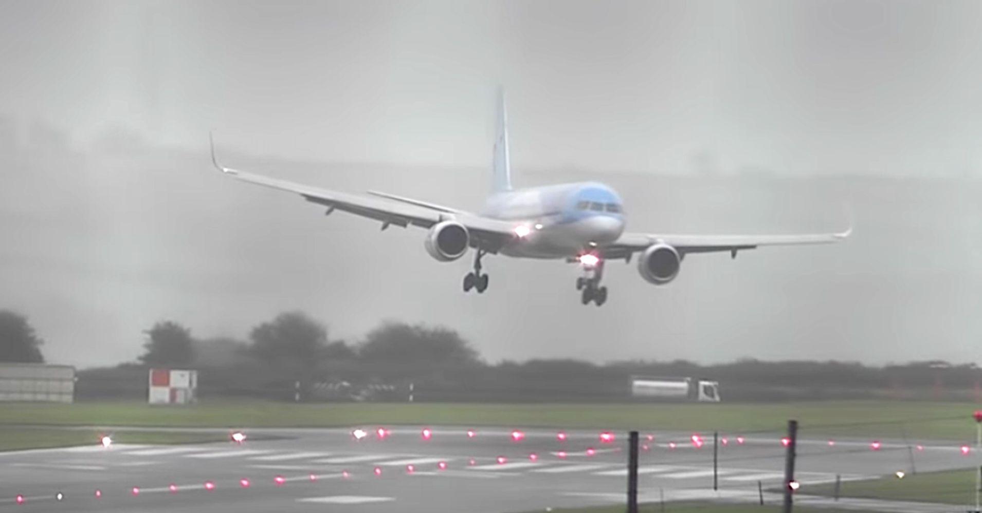 TUI Airways Lauds Pilot's 'Impressive' Sideways Landing In Stiff Crosswind