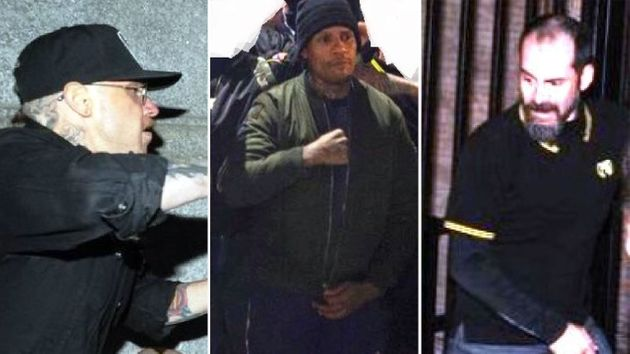 Photos released by the NYPD of persons of interest in Friday's violence on Manhattan's Upper East