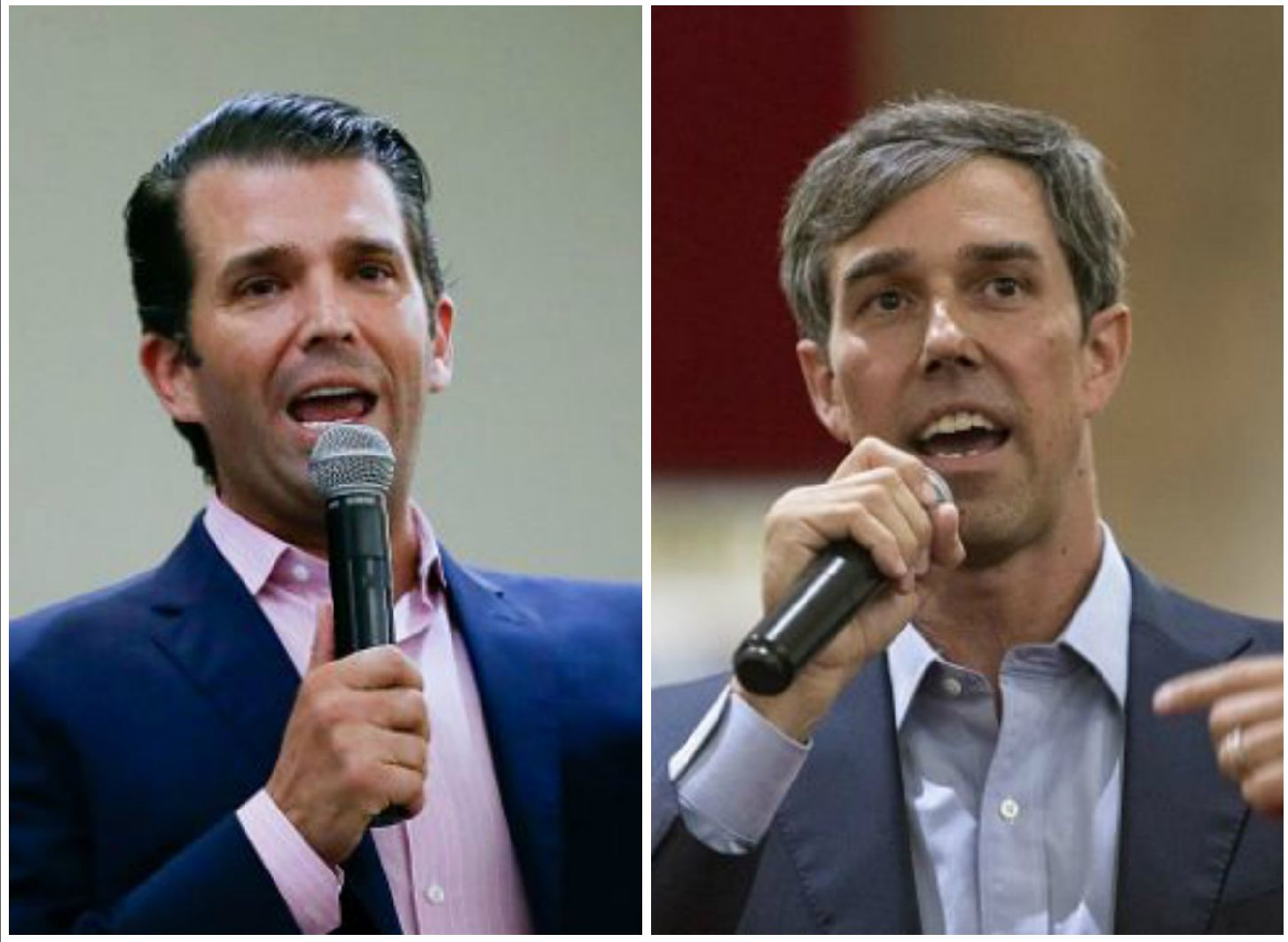 Beto O'Rourke, Donald Trump Jr.