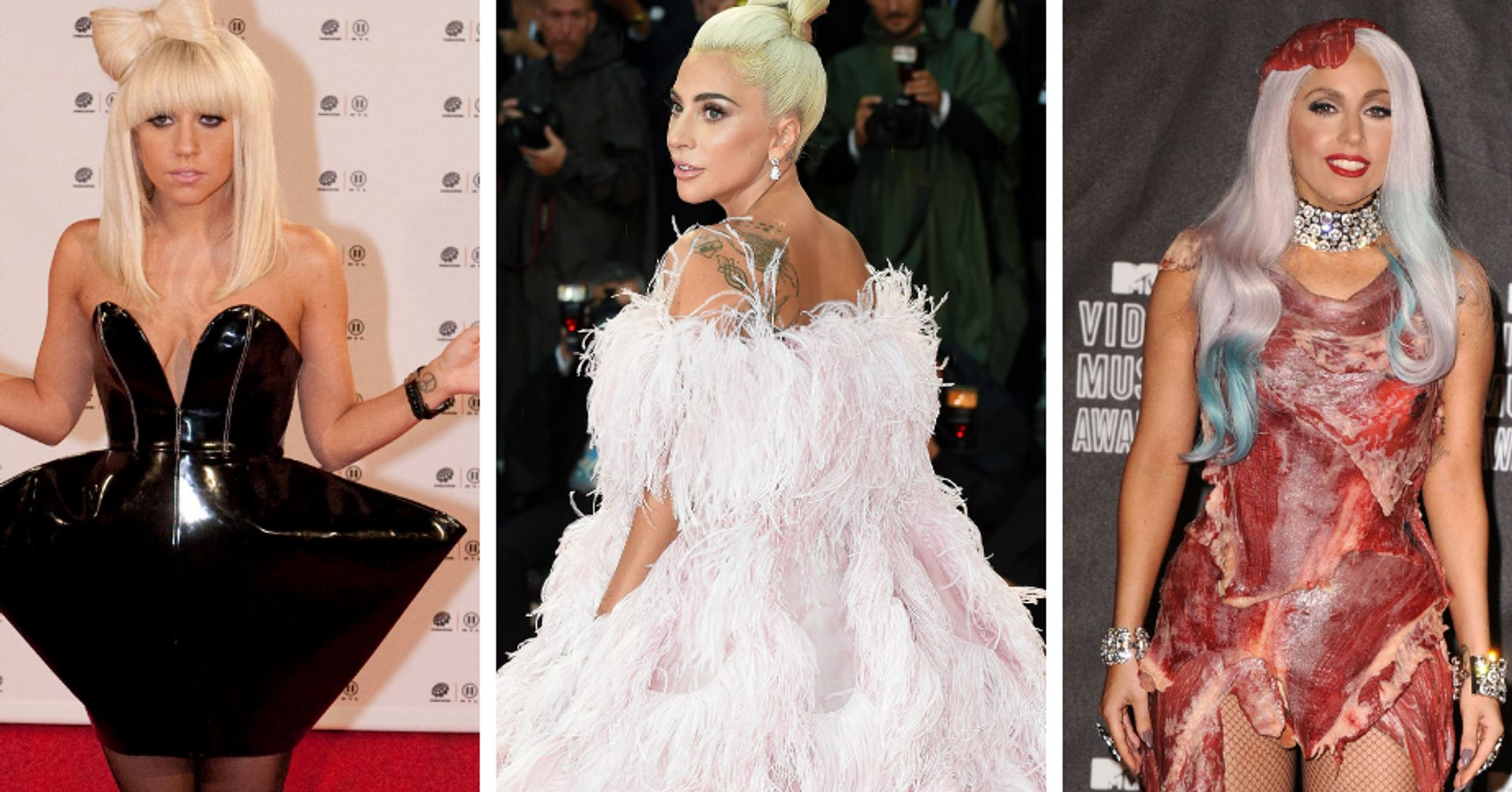 Lady Gaga's Most Memorable Red Carpet Moments Ever