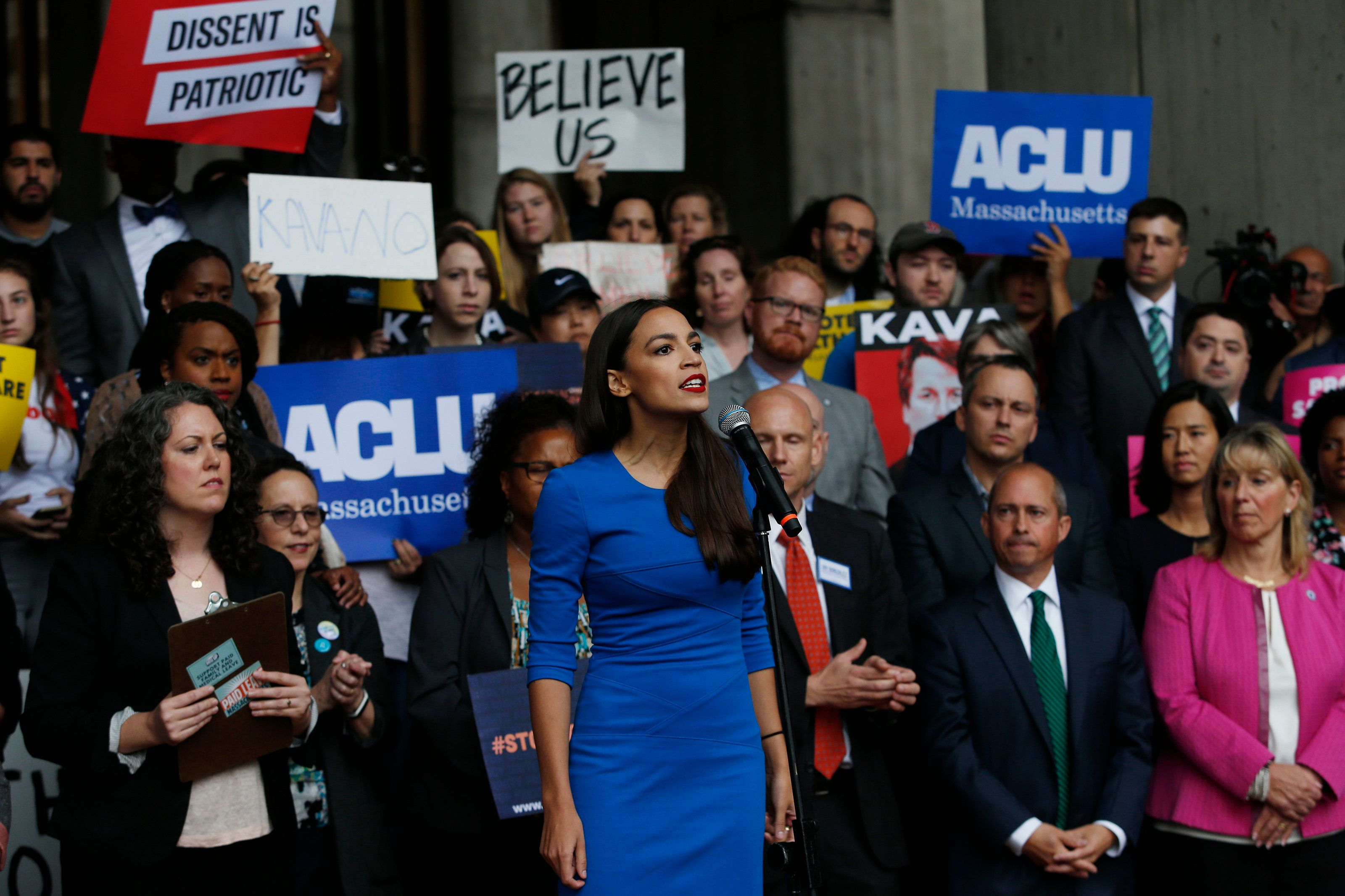 Alexandria Ocasio-Cortez, Democrat rock star makes history