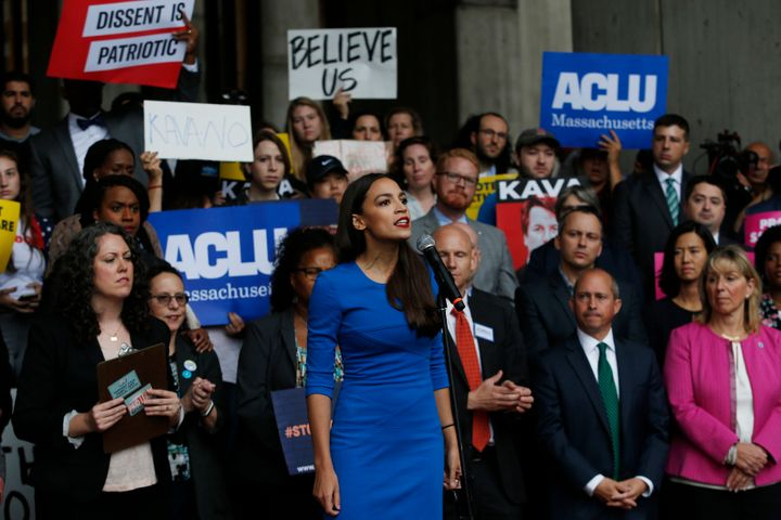 Alexandria Ocasio-Cortez, at 29, is the youngest woman ever elected to Congress.