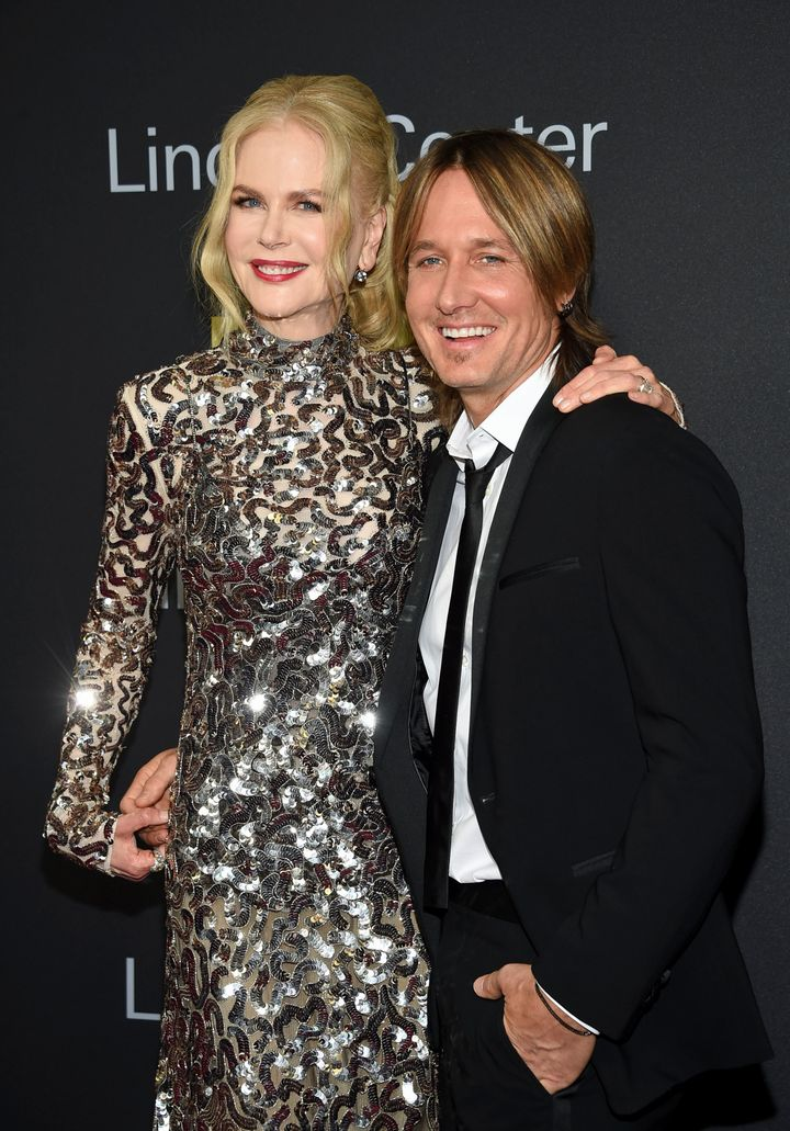 Nicole Kidman and Keith Urban pictured together.