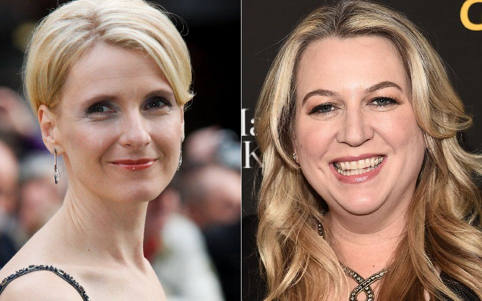 Elizabeth Gilbert, left, and Cheryl Strayed.
