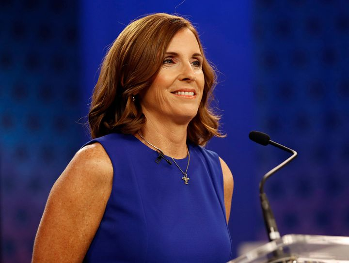Rep. Martha McSally (R-Ariz.) accused her Democratic opponent of treasonous behavior based on a 2003 radio conversation about