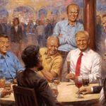 Trump-Gemälde im Weißen Haus: Maler versteckte geheime