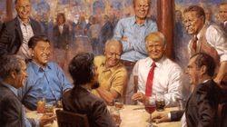 Dieses Trump-Gemälde hängt im Weißen Haus – der Maler versteckte darin eine geheime