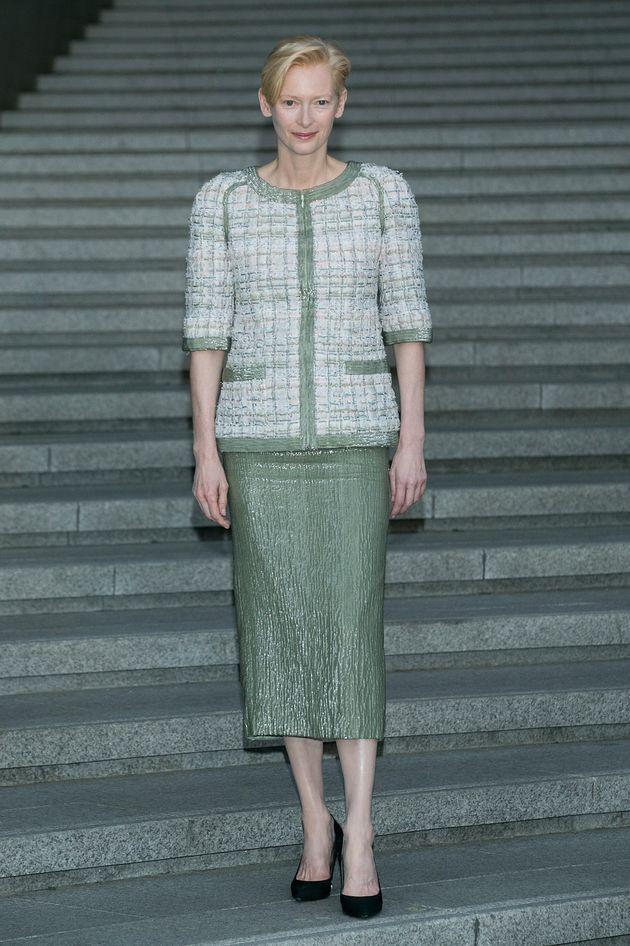 김정숙 여사가 입은 샤넬 2015/16 크루즈 컬렉션은 한국의 미로
