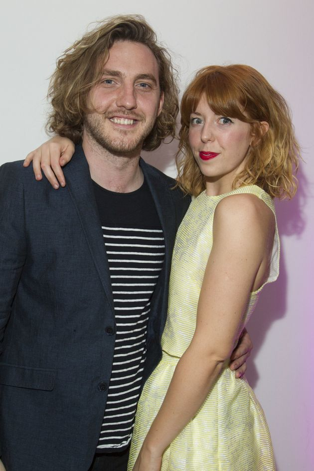 Seann and Rebecca, pictured together in