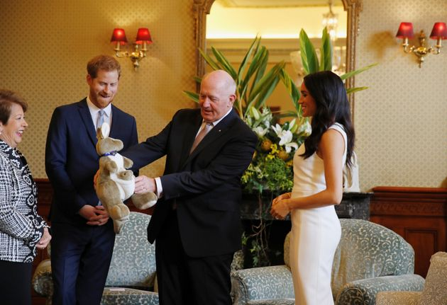Meghan Markle And Prince Harry Speak About Pregnancy For First Time Since
