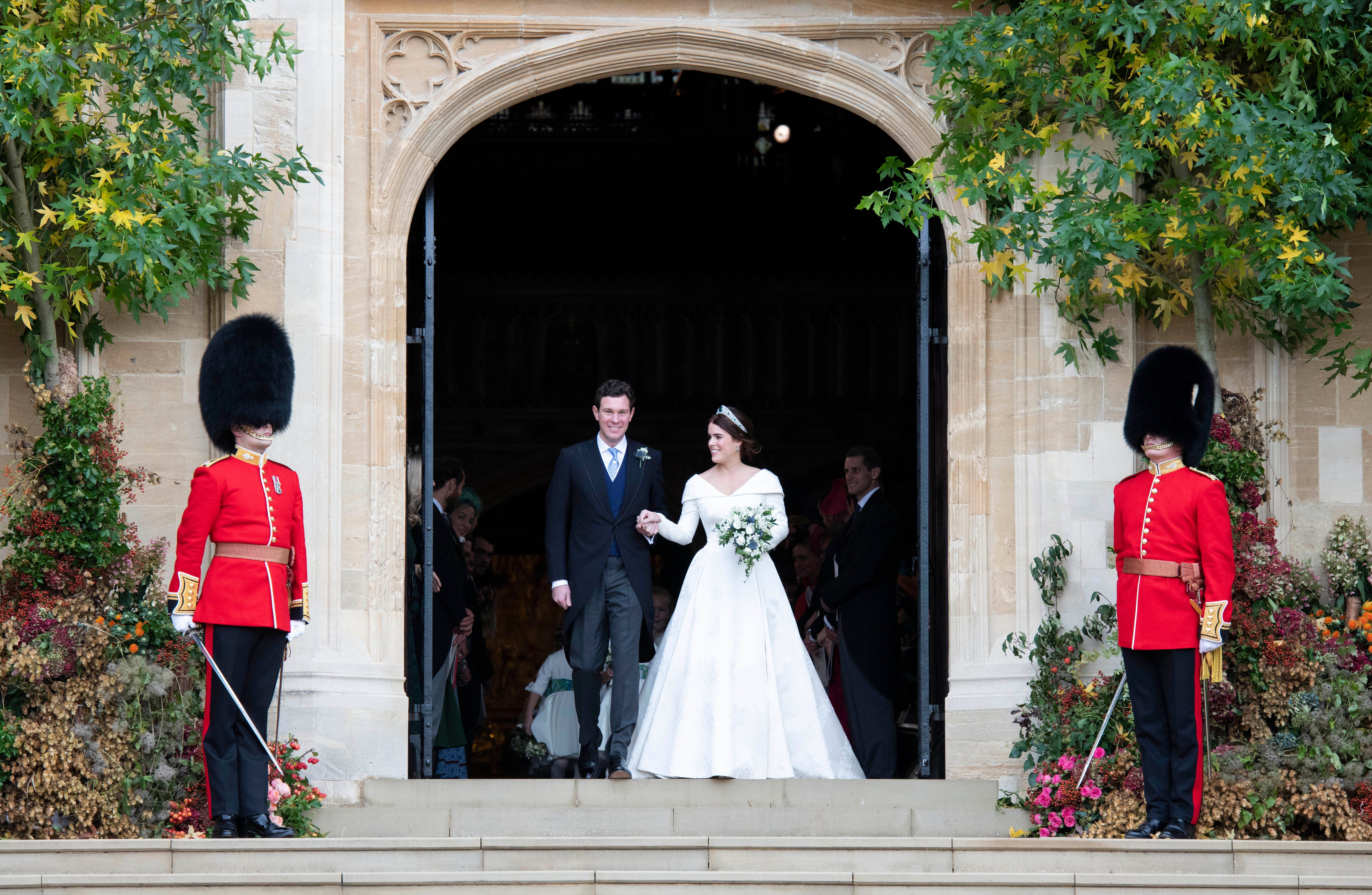 No (Royal) Baby News, No White Dresses. How Not To Upstage A Bride and Groom At Their