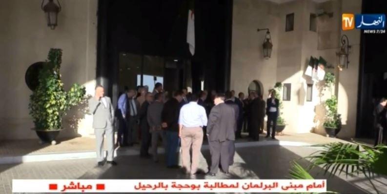 Le BP politique du FLN traduit Saïd Bouhadja devant la commission de