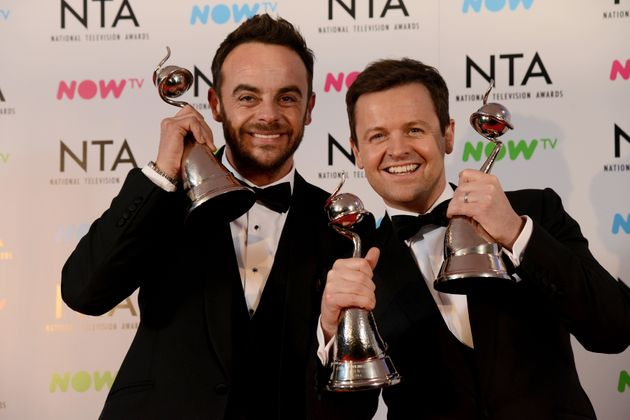 Ant and Dec at the NTAs earlier this