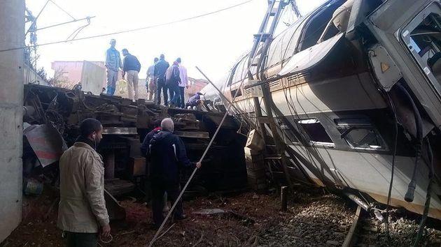 Grave accident ferroviaire entre Rabat et Kénitra, plusieurs