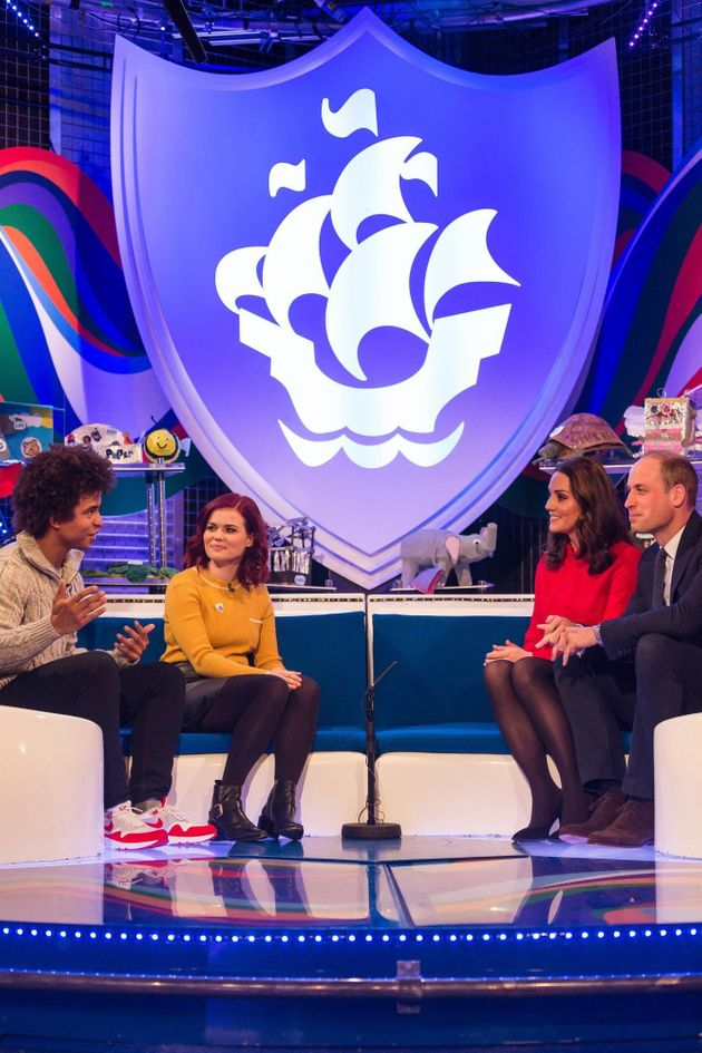 HRH Catherine, Duchess of Cambridge and HRH Prince William, Duke of Cambridge, were guest on the show...