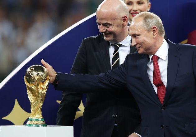 Mondial-2018: 12,5 mds EUR de gains pour la Russie selon les organisateurs