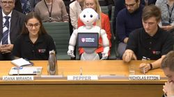 Pepper The Robot Speaks At