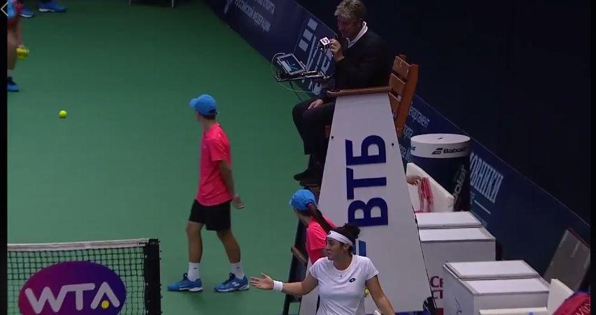 Insolite: Concentrée, Ons Jabeur n'a pas réalisé qu'elle venait de remporter son match
