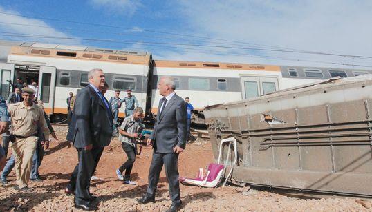 Déraillement de train à Bouknadel: le roi ordonne une enquête