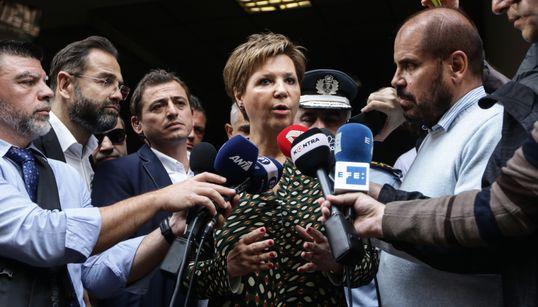 Μέτρα υποσχέθηκε η Γεροβασίλη που αποδοκιμάστηκε στο ΑΤ