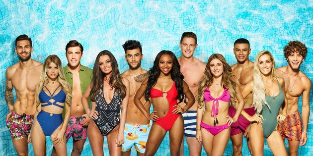The cast of 'Love Island' 2018.